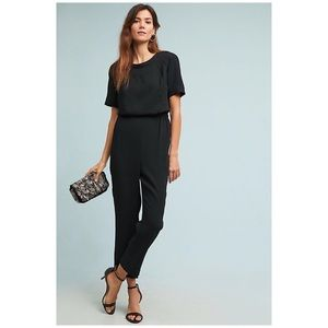 Anthropologie Allegory Textured Jumpsuit
